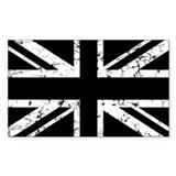 England flag sticker Single