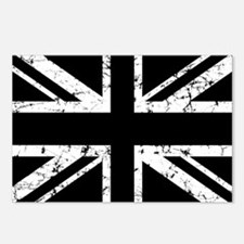 """Black Union Jack"" Postcards (Package of 8)"