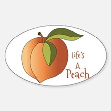 Lifes A Peach Decal