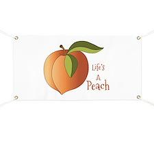 Lifes A Peach Banner