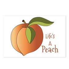 Lifes A Peach Postcards (Package of 8)