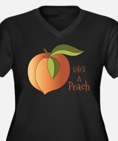 Lifes A Peach Plus Size T-Shirt