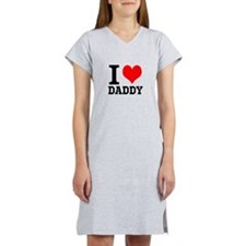 "Your Own Text ""I Heart"" Women's Nightshirt"