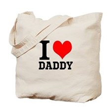 "Your Own Text ""I Heart"" Tote Bag"