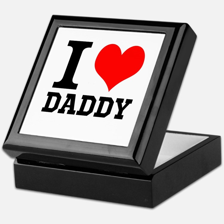"Your Own Text ""I Heart"" Keepsake Box"
