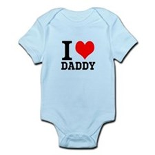 """Your Own Text """"I Heart"""" Infant Bodysuit"""