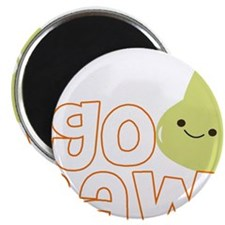 "Go Raw 2.25"" Magnet (100 pack)"