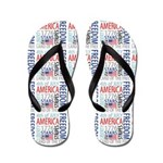 Independence Day Flip Flops