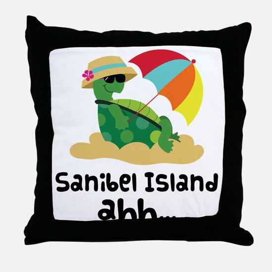 Sanibel Island Florida Throw Pillow