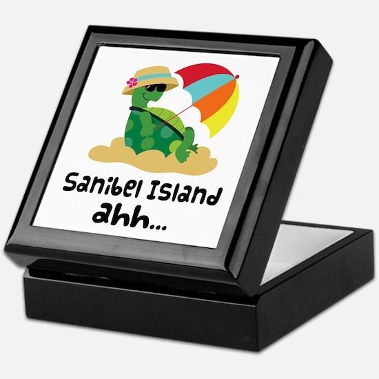 Sanibel Island Florida Keepsake Box