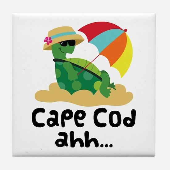 Cape Cod Massachusetts Tile Coaster