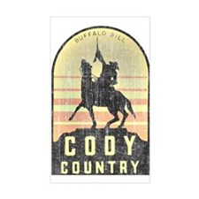 Vintage Cody Country Decal