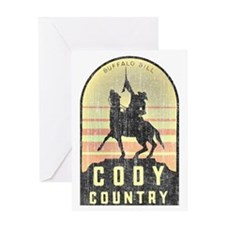 Vintage Cody Country Greeting Card