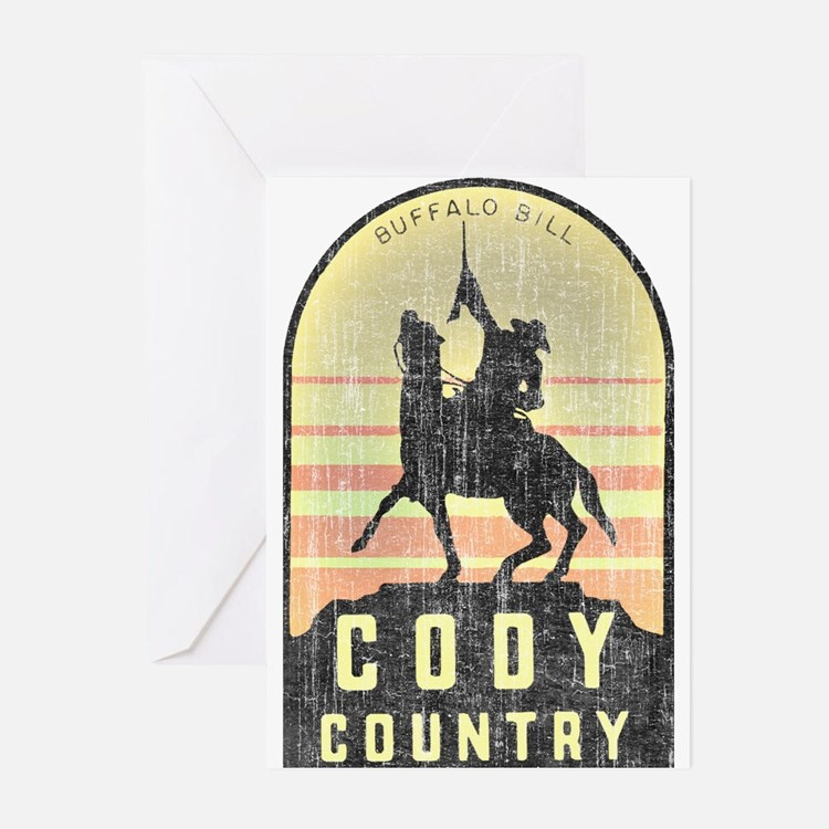 Vintage Cody Country Greeting Cards (Pk of 10)