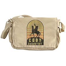 Vintage Cody Country Messenger Bag