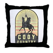 Vintage Cody Country Throw Pillow