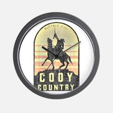Vintage Cody Country Wall Clock