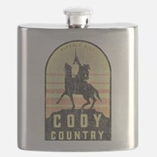 Vintage Cody Country Flask