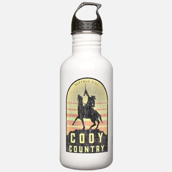 Vintage Cody Country Water Bottle
