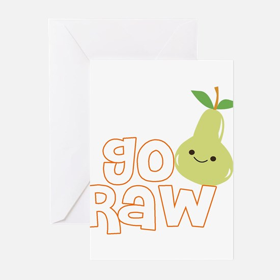 Go Raw Greeting Cards (Pk of 20)