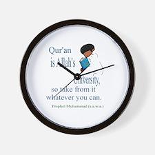 Knowledge of Quran Wall Clock