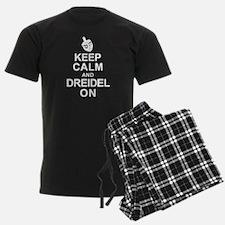 Keep Calm and Dreidel On Pajamas