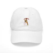 Vintage Wyoming Pinup Baseball Cap