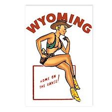 Vintage Wyoming Pinup Postcards (Package of 8)
