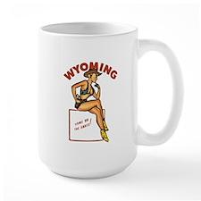 Vintage Wyoming Pinup Mug