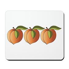 Row Of Peaches Mousepad