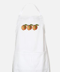 Row Of Peaches Apron