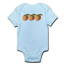 Row Of Peaches Body Suit