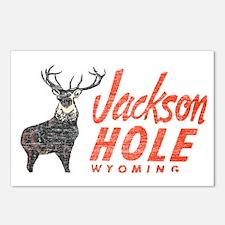 Vintage Jackson Hole Postcards (Package of 8)