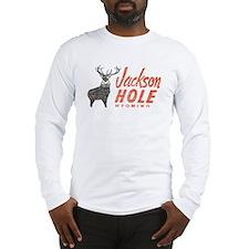 Vintage Jackson Hole Long Sleeve T-Shirt