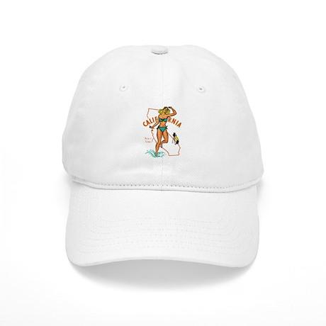 Vintage California Pinup Cap