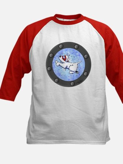 Snorkel Westies Kids Baseball Jersey