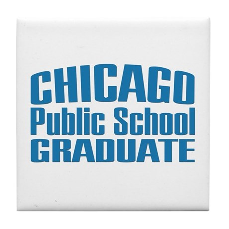Chicago Public School Graduate Tile Coaster