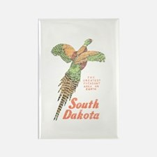 South Dakota Pheasant Rectangle Magnet