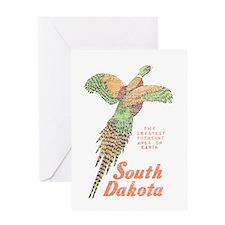 South Dakota Pheasant Greeting Card