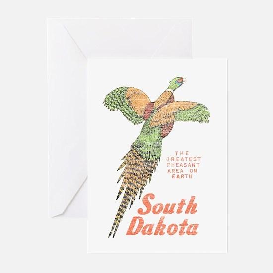 South Dakota Pheasant Greeting Cards (Pk of 10)