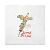 South dakota pheasant Luxe Full/Queen Duvet Cover