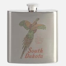 South Dakota Pheasant Flask
