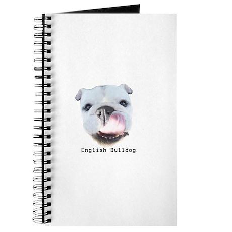 English Bulldog note pads and Journals