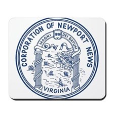 Newport News Virginia Mousepad