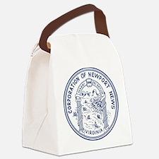 Newport News Virginia Canvas Lunch Bag