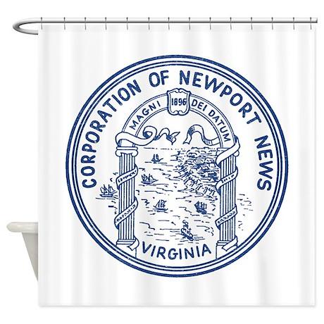 Newport News Virginia Shower Curtain