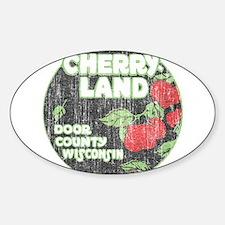 Door County Cherryland Decal