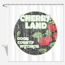 Door County Cherryland Shower Curtain