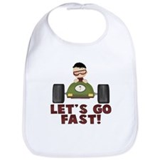 Race Car Driver Boy (1) Bib