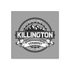 """Killington Gray Square Sticker 3"""" x 3"""""""
